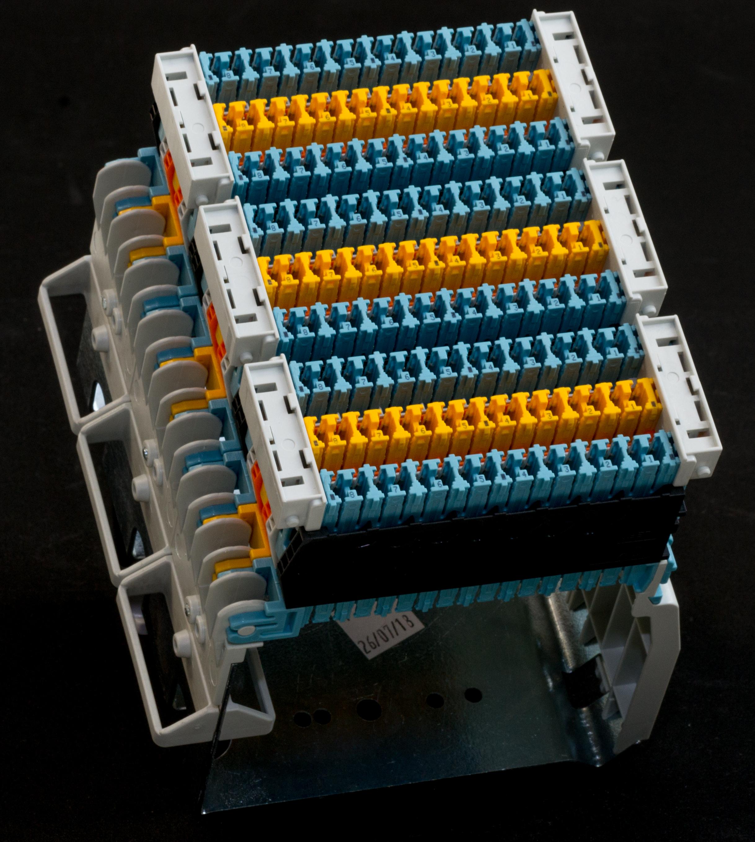 BLOCK BRCP SPLITTER 48 PORTS IDC