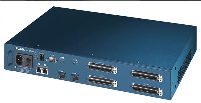 DSLAM - IP ZYXEL IES 1248 X 48 PTOS.